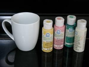 decorate a mug craft. Black Bedroom Furniture Sets. Home Design Ideas