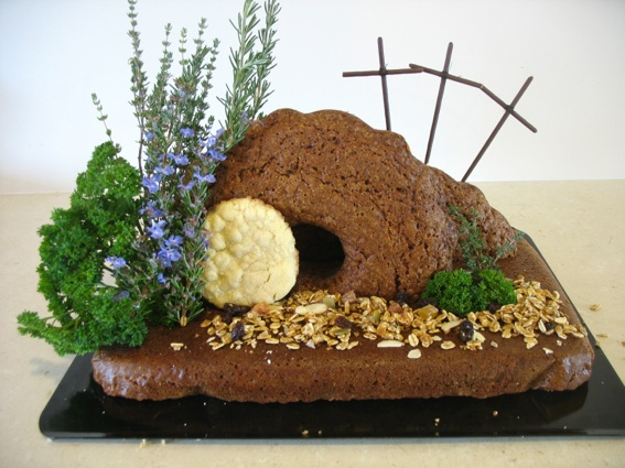 Edible Easter Garden, step by step instructions