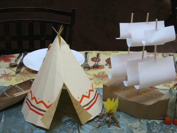Cut Out Small Thankgiving Crafts