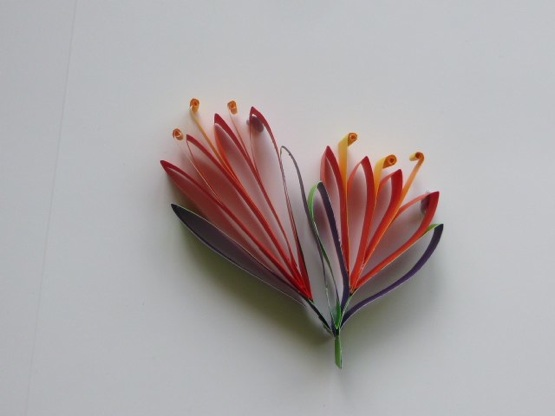 Paper pohutukawa flower christmas tree ornament mightylinksfo