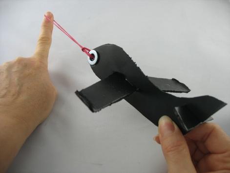 styrofoam airplane craft