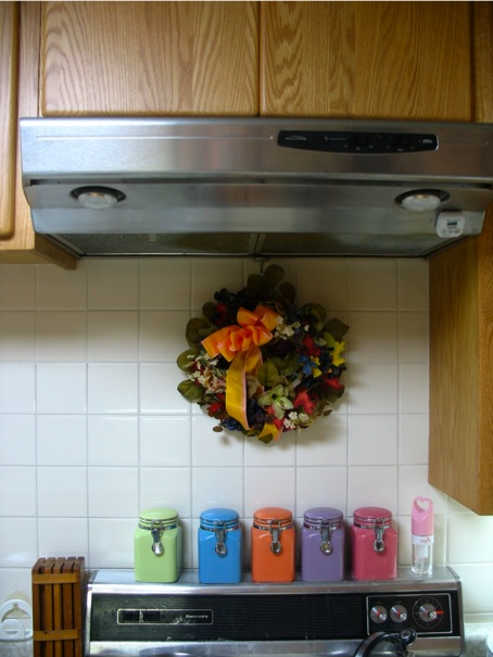 Ways to decorate kitchen fall autumn halloween thanksgiving for Ways to decorate kitchen