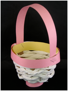 toilet paper roll easter craft baskets toilet paper easter basket sunday school craft 7920